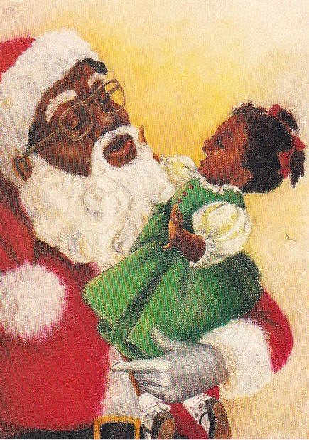 Episode 7 father christmas miss agbo and the composition - African american christmas images ...